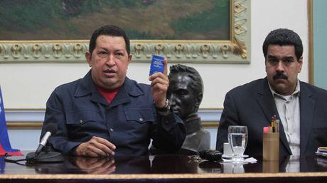 Chávez, Nicolás, 8 diciembre 2012